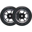 Wheels North Signal 110x30mm black 2pcs
