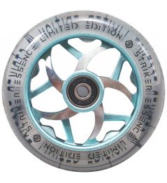 Wheel Striker Essence V3 Clear 110mm turquoise