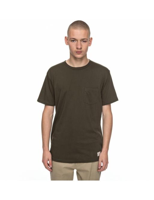 T-shirt Dc Basic Pocket 360 cqy0 fatigue green 2017/18 vell.L