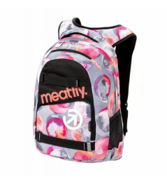 Backpack Meatfly Exile 22L F blossom gray 2018/19
