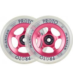 Wheels Proto Plasma 110mm Neon Pink 2pcs