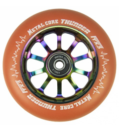 Metal Core Thunder Rainbow 110 mm round orange