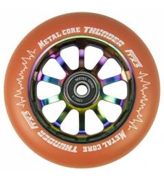 Metal Core Thunder Rainbow 110 mm round orange