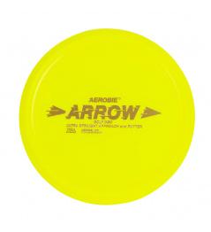 ARROW Aerobie Flying Plate yellow, disc golf