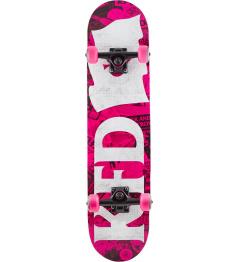 """KFD Young Gunz Skateboard 7.75 """"Wallpaper"""