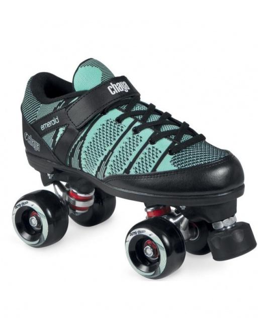 Chaya Quad Emerald Soft in-line skates