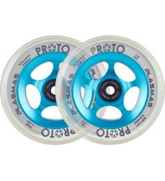 Wheels Proto Plasma 110mm Electric Blue 2pcs
