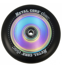 Metal Core Disc 110 mm black wheel