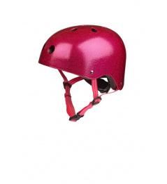 Micro Pink Glitter Helmet