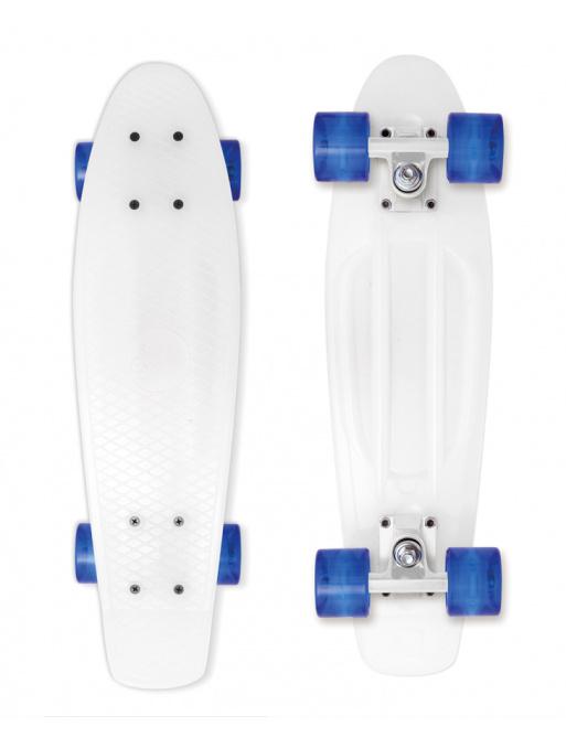 Skateboard Street Surfing BEACH BOARD Milky, white