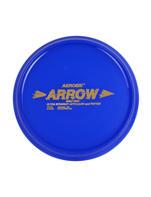 Flying plate Aerobie ARROW blue, disc golf
