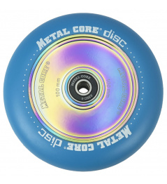 Metal Core Disc 100 mm blue wheel