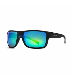 Horsefeathers Zenith glasses - matt black / mirror green 2021