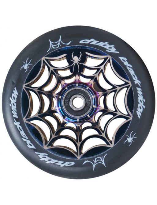 Wheel Chubby Widow V2 110mm Mirror Blue