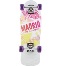 "Longboard Madrid Oasis Cruiser 8.25 ""white"