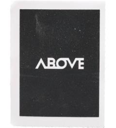 Above Square black sticker