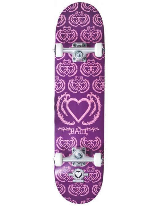 "Skateboard Heart Supply Bam 7.75 ""United Purple"