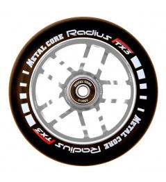 Wheel Metal Core Radius 120mm Wheel Silver