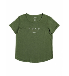 T-shirt Roxy Oceanholic 139 gnt0 vineyard green 2021 women's vell.L