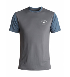 Quiksilver T-shirt Color Blocked Surf 089 kzm0 iron gate 2018 vell.M