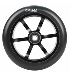 Chilli 6 spoked 120 mm castor