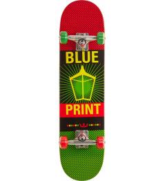 """Pachinko V2 7.75 """"Rasta Skateboard"""