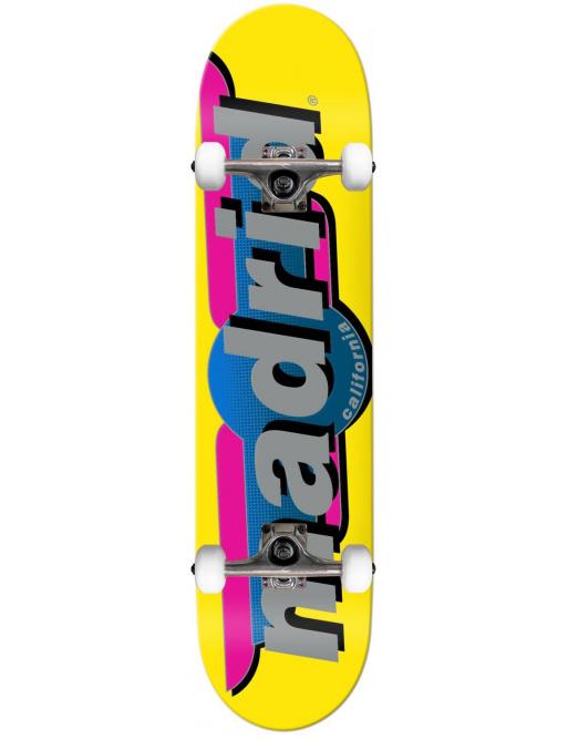 "Madrid Complete Skateboard (7.75"" | Žlutá)"