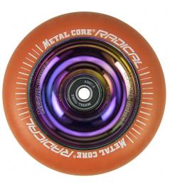 Metal Core Radical Rainbow 110 mm orange wheel