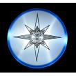 SKYLIGHTER Aerobie Flying Plate blue
