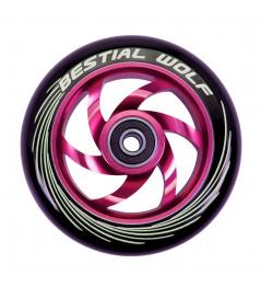 Bestial Wolf Twister wheel 110mm pink