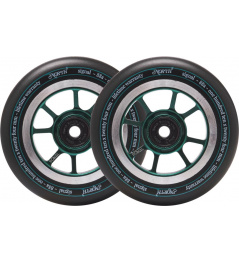 Wheels North Signal 110x30mm Forest Green 2pcs