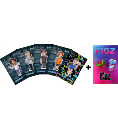 Stickers Figz Collectors Scooter Sticker 6-Pack Pack 2