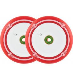Wheels UrbanArtt Original 120mm Red / White 2pcs