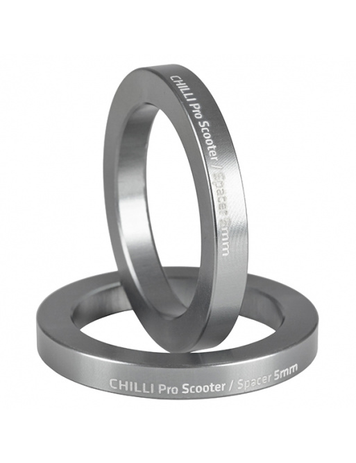 Chilli set of 2 spacers 5 mm gray