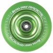 Metal Core Radical Fluorescent 110 mm green wheel