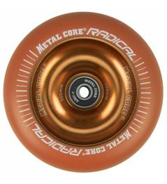 Metal Core Radical Fluorescent 110 mm orange wheel