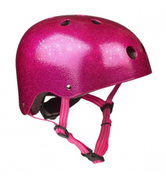 Micro Pink Glitter S Helmet (48-52cm)