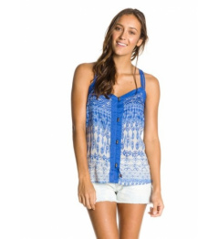 Roxy Sweet Escape 000 Tank Top bjc6 indiglobe combo ultra marine 2014 women's vell.L