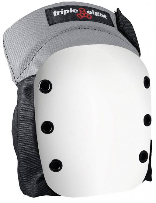 Protectors Triple Eight Street Skate Knee Pads M Black / White