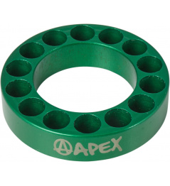 Headset spacer Apex 10mm green