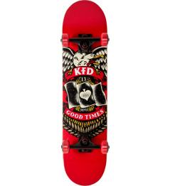 """KFD Skateboard Young Gunz 7.5 """"Badge"""