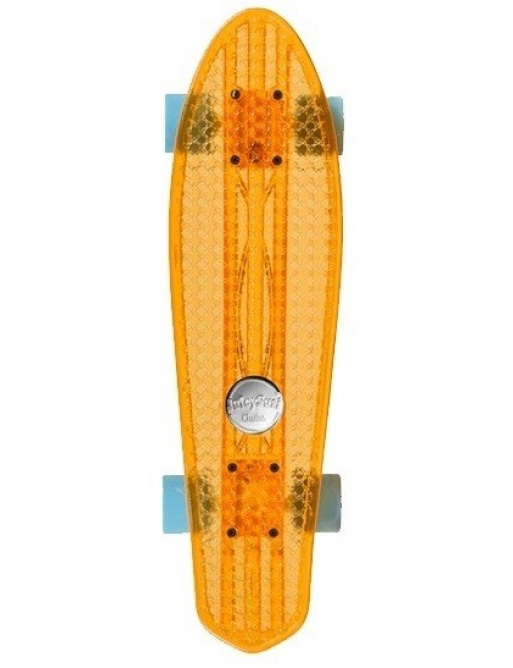Choke Juicy Skateboard Susi Dirty Harry Clear Orange