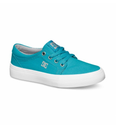 Dc Trase Shoes TX turquoise / lt gray 2015 kids vell