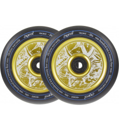 North Vacant Pro Scooter Wheels 2-Pack (110mm   Gold)