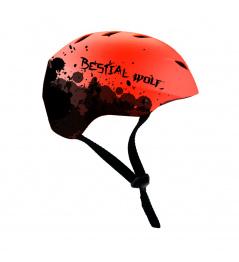 Červená Bestial Wolf Shell helma