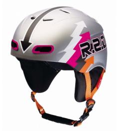 Helmet RED Skycap II Moto silver vell.L