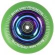 Metal Core Radical Rainbow 110 mm green wheel