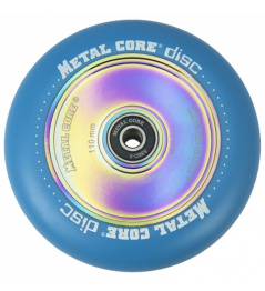 Metal Core Disc 110 mm blue wheel