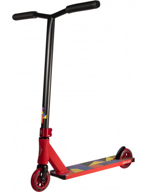 Freestyle scooter North Hatchet 2021 Red & Matte Black