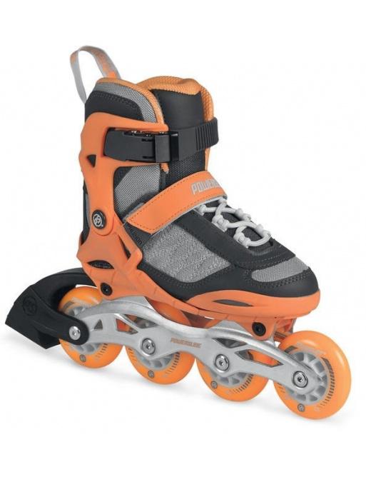 Children's roller skates Powerslide Phuzion Galaxy Neon Orange